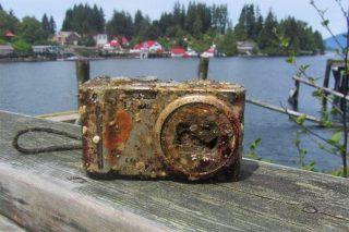 2 տարի ծովի հատակում անցկացրած Panasonic ֆոտոխցիկի լուսանկարները պահպանվել են մինչ օրս