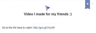 """Մաքրենք newsfeed-ը """"video I made for my friends""""-ից"""