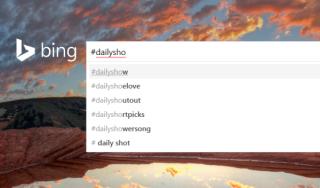 Bing-ն օգտատերերին հնարավորություն է տալիս հեշթագների միջոցով որոնել Twitter-ի ամենաքննարկվող թեմաները