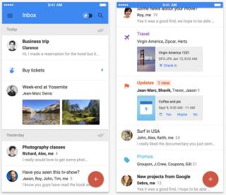 Google-ի «Inbox» մեսենջերը կարող է որպես Gmail-ի այլընտրանքային տարբերակ ծառայել