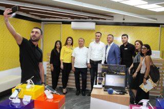 Էրեբունիում բացվել է Beeline-ի նոր վաճառքի և սպասարկման գրասենյակ