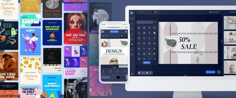 Renderforest ընկերությունը գործարկել է գրաֆիկ դիզայնի նորարարական գործիք