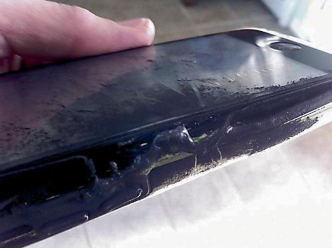 iPhone-ը պայթել է 14-ամյա աղջկա գրպանում