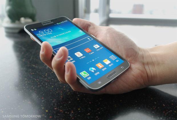 Samsung Galaxy Round - առաջին կոր սմարթֆոնն աշխարհում