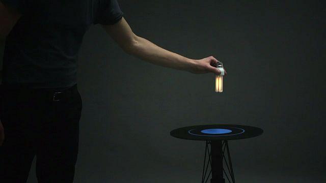 Ստեղծվել է «էլեկտրամագնիսական» սեղան