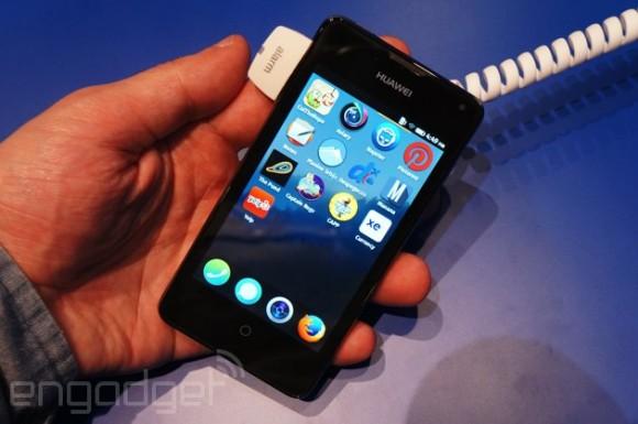 Ներկայացվել է FireFox օպերացիոն համակարգով առաջին Huawei սմարթֆոնը