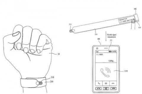 LG-ն «խելացի» ժամացույցի և Slap-թևնոցի հիբրիդի արտոնագիր է ձեռք բերել