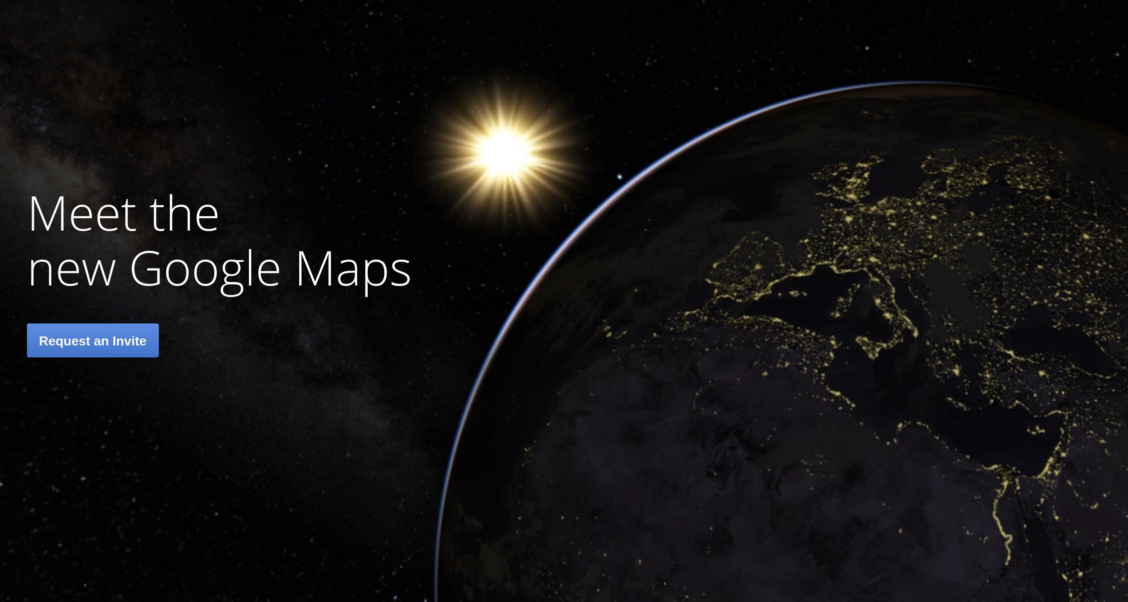 Google-ը ներկայացրել է «Google Maps» ծառայության նոր տարբերակը