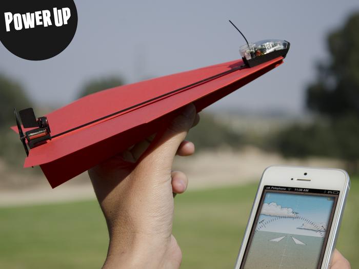 Power UP 3.0 հավելվածը թույլ է տալիս կառավարել թղթե ինքնաթիռ