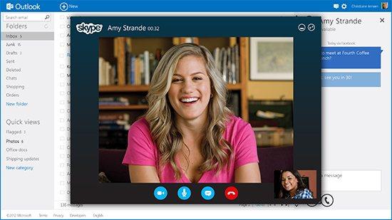 Skype-ն ինտեգրվել է Outlook-ի մեջ