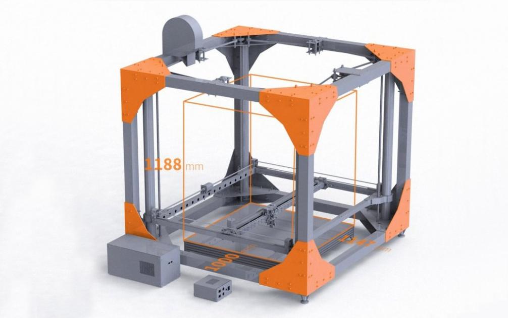 Ամենամեծ 3D տպիչը
