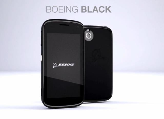 Boeing Black. Սմարթֆոն Ջեյմս Բոնդի համար