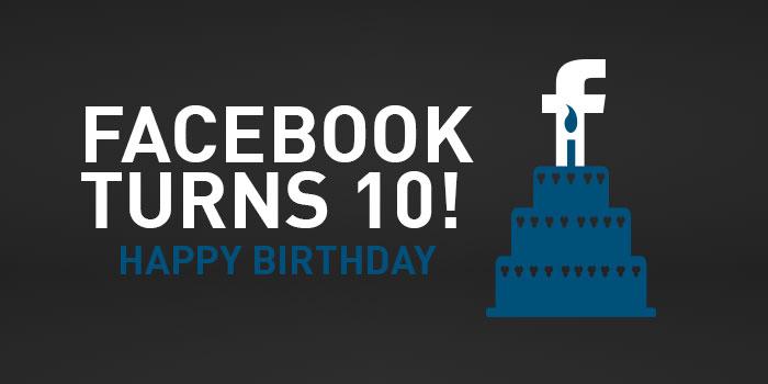 Facebook-ը 10 տարեկան է