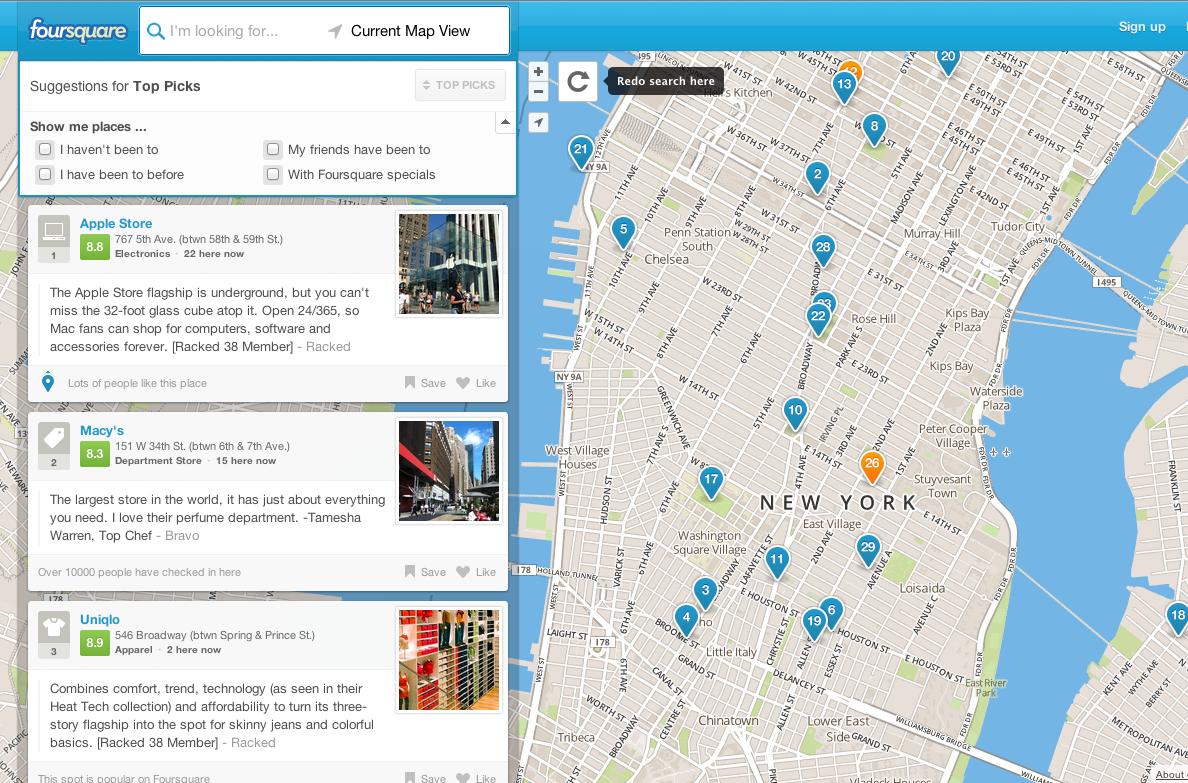 Foursquare-ը տեղանքները խմբագրելու նոր գործիք է թողարկել