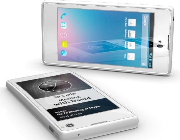 YotaPhone. սմարթֆոն, որն ունի 2 էկրան