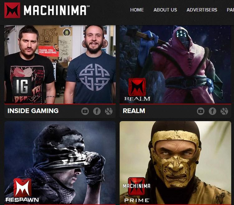 Warner Bros. ընկերությունը մտադիր է ներդրում կատարել Machinima կայքում