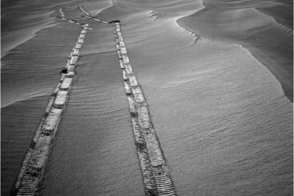 «Կարմիր վետերանի» հետքերը Մարսի մակերևույթի վրա