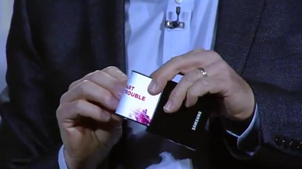 Հոկտեմբերին Samsung-ը կթողարկի ծալվող էկրանով սմարթֆոն