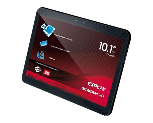 Ներկայացվել է Explay Scream 3G Android պլանշետը