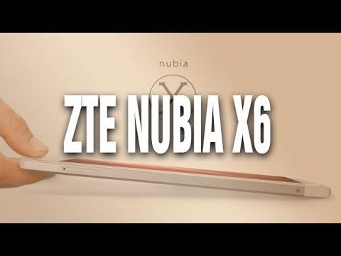 ZTE Nubia X6. 6,44 դյույմանի դիսփլեյով ֆաբլեթ