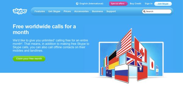 Skype. Անվճար բջջային և քաղաքային զանգեր ամբողջ աշխարհում