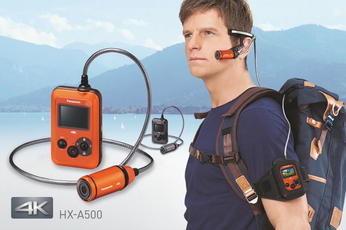 Panasonic HX-A500. Action-տեսախցիկ