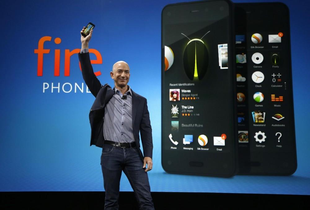 Amazon-ը ներկայացրեց 3D դիսփլեյով Fire Phone սմարթֆոնը