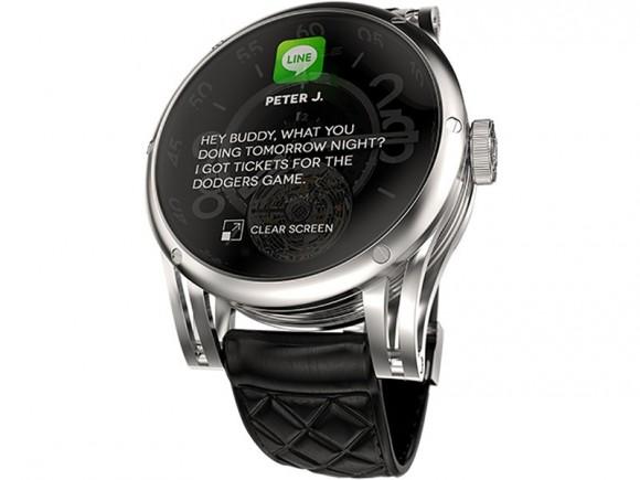 Kairos Smartwatch. «խելացի» և մեխանիկական ժամացույցների հիբրիդ