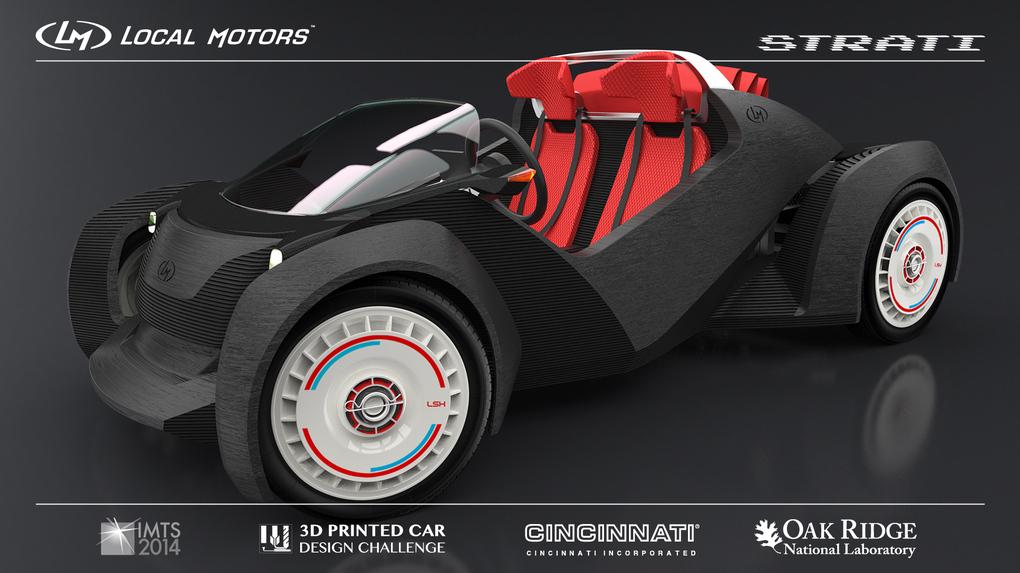 Local Motors ընկերությունը 3D տպիչի միջոցով ատվոմեքենաներ է տպում