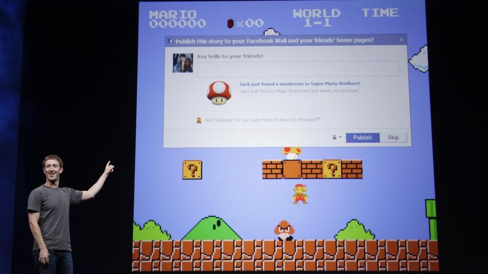Facebook. ամսական 375 միլիոն օգտատեր խաղեր է խաղում