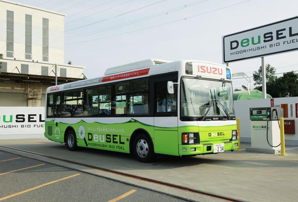 Ճապոնիայում ներկայացրել են ջրիմուռներից ստացված վառելիքով աշխատող առաջին ավտոբուսը