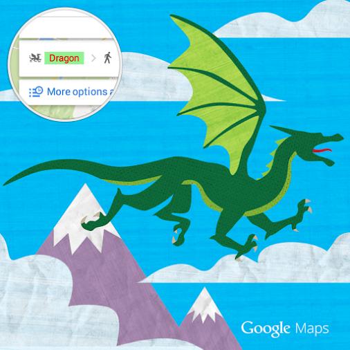 «Game of Thrones»-ի վիշապները տեղափոխվել են Google Maps