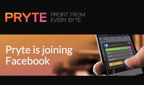 Facebook-ը ձեռք է բերում Pryte ինտերնետ-սթարթափը