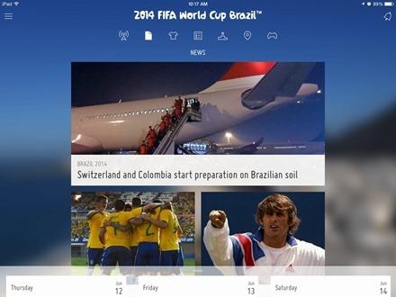 FIFA Official. Հավելված iPad-ի համար