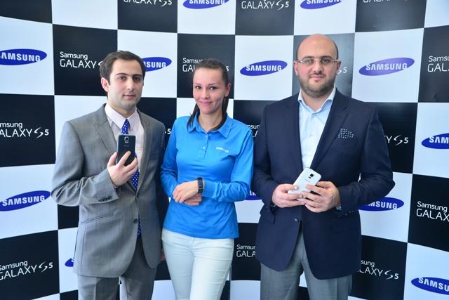 Երևանում ներկայացվեց Samsung Galaxy S5-ը