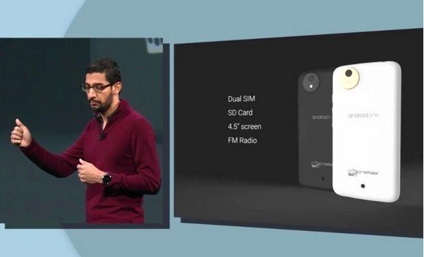 Google-ը ներկայացրել է սմարթֆոն, որի արժեքը չի գերազանցելու 100 ԱՄՆ դոլարը