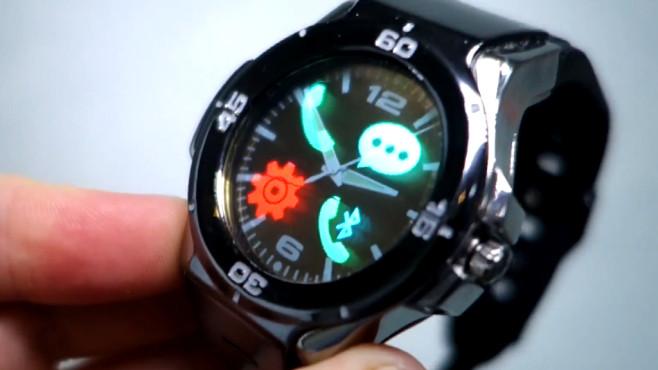 Halo 1 և Halo 2. թափանցիկ դիսփլեյով «խելացի» ժամացույցներ