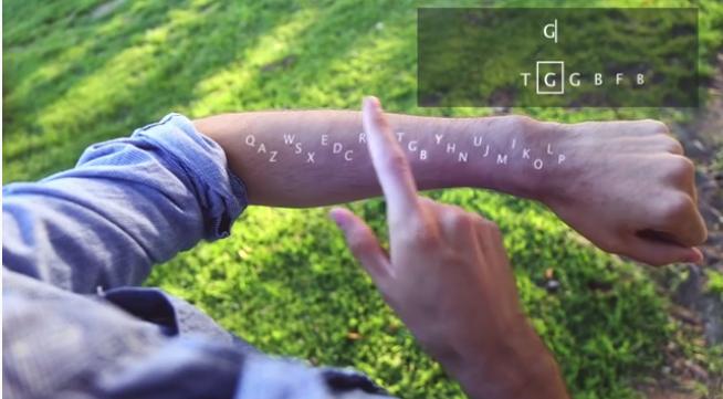 Ինչպես տեքստ հավաքել Google Glass-ում