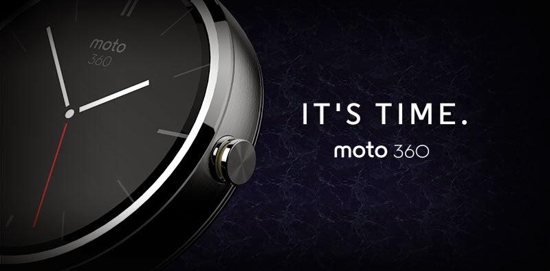 Google I/O կոնֆերանսի ժամանակ տեղի է ունեցել Moto 360 «խելացի» ժամացույցի ցուցադրությունը