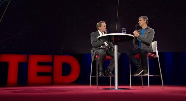 TED 2014. Հարցազրույց Լարի Փեյջի հետ