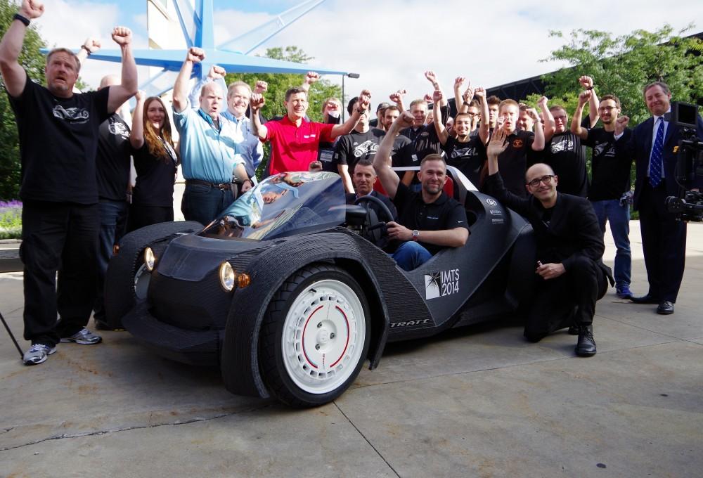 3D տպիչի միջոցով ստեղծված ավտոմեքենան կարող է մինչև 64 կմ/ժ արագություն զարգացնել