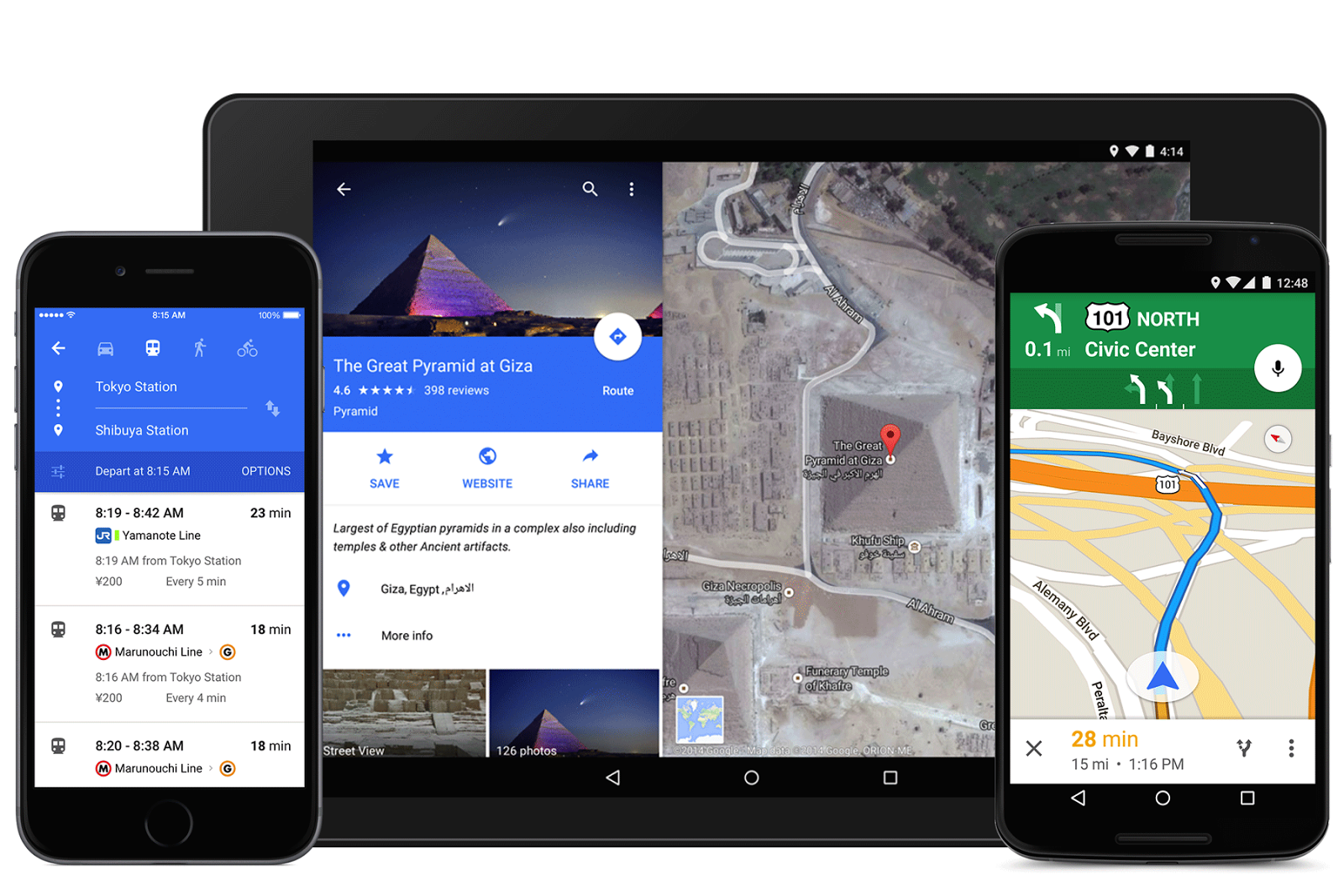 Google Maps-ը ներկայանում է նոր ֆունկցիաներով ու թարմացված դիզայնով