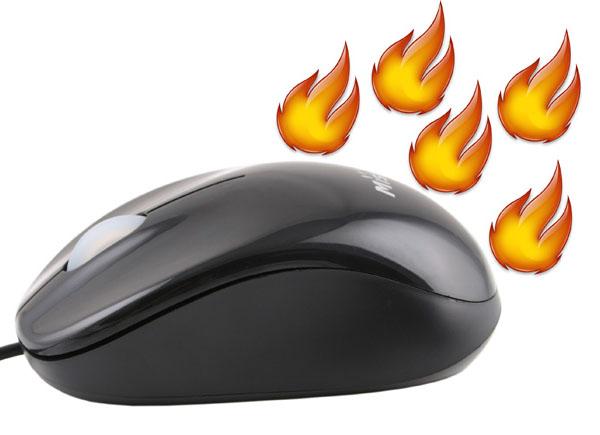 Warm Mouse. Ջերմացնող մկնիկ