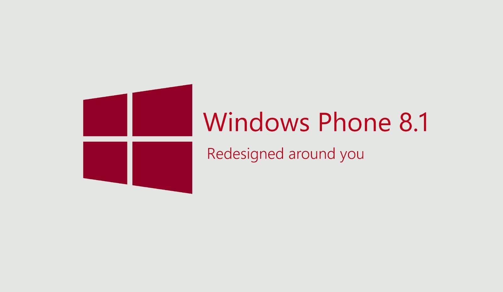 Windows Phone 8.1 օպերացիոն համակարգով առաջին սմարթֆոնները կթողարկվեն ապրիլի վերջին
