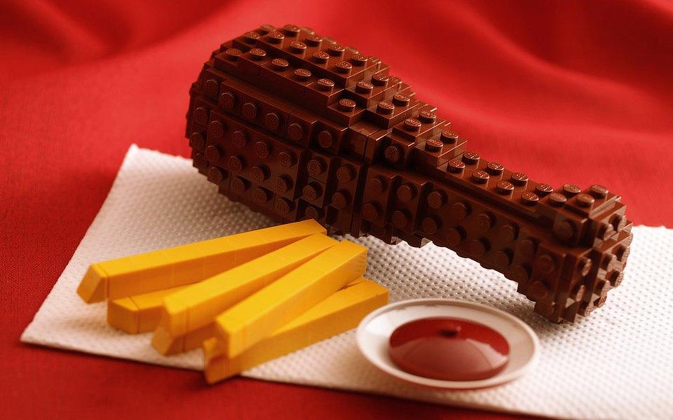 Ինչպիսի՞ տեսք կունենային LEGO-յով պատրաստված ուտեստները