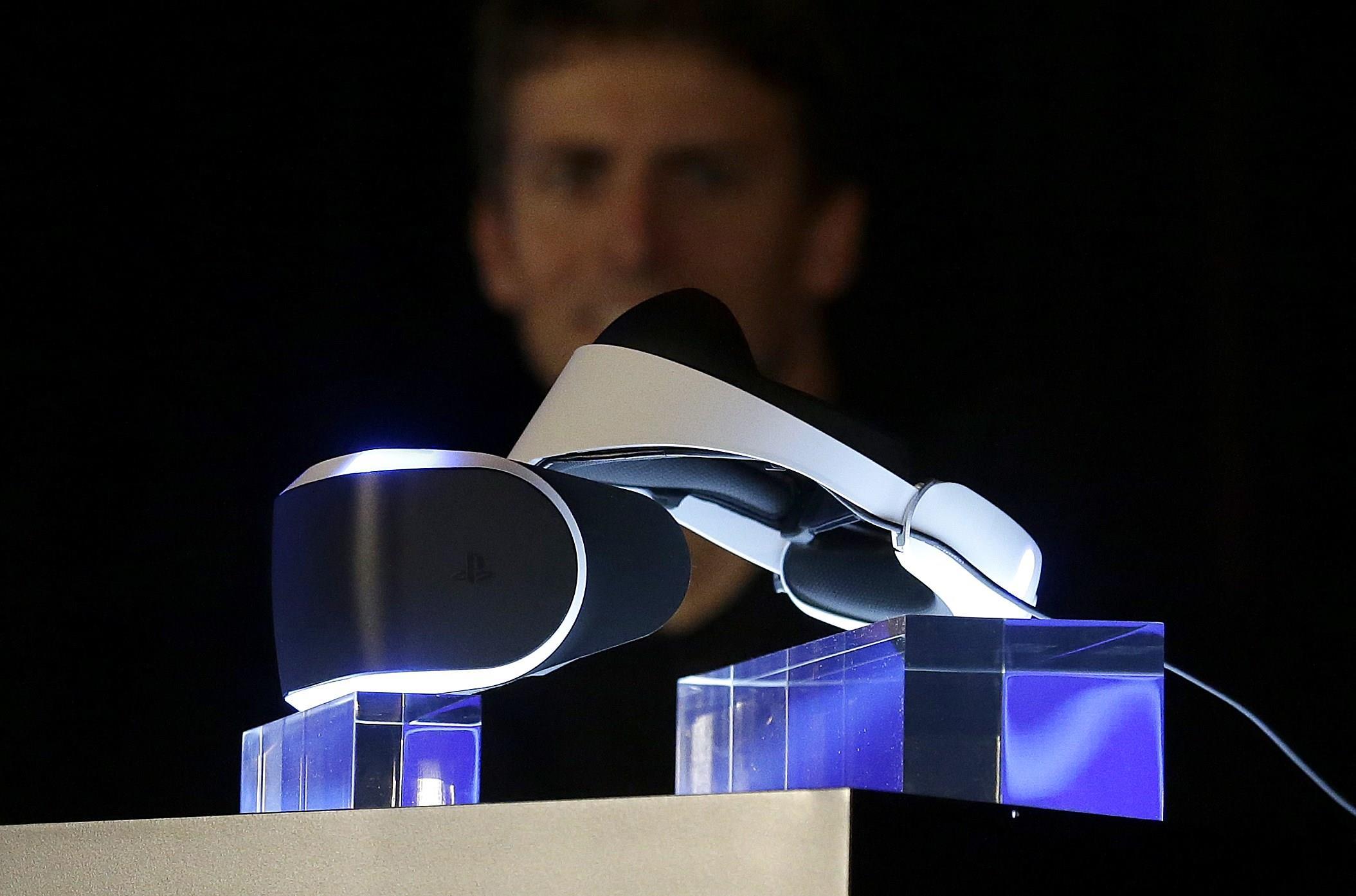 Sony. Վիրտուալ իրականության սաղավարտ
