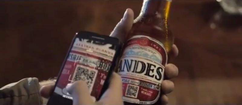 Andes գարեջրի շիշը QR-կոդի միջոցով տեսահաղորդագրություններ կփոխանցի Ձեր ընկերներին