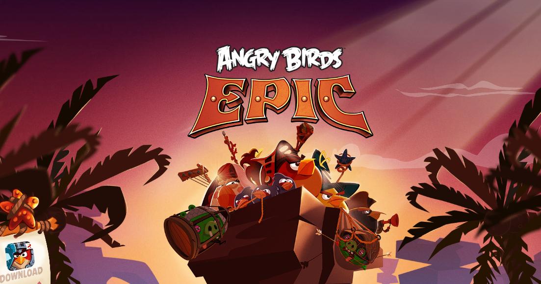 Rovio-ն թողարկել է Angry Birds Epic խաղը