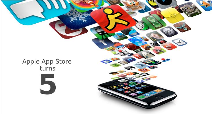 5 հետաքրքիր փաստ App Store-ի 5-ամյակի կապակցությամբ