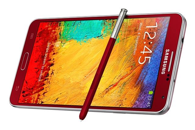 Samsung-ը կներկայացնի Galaxy Note 3 պլանշետֆոնի վարդագույն և կարմիր կորպուսներով տարբերակները